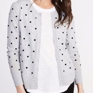 Old Navy Polka dot cardigan XL